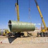 Sand doped fiber glass reinforced plastic pipes