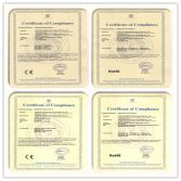 CE and RoHS Certificates of Solar Home Systems and Solar Street Lights