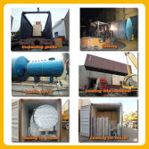 oil press factory loading and delivery