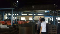 Australia customer visited our foundry this month