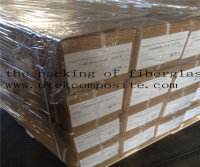 The packing of fiberglass cloth