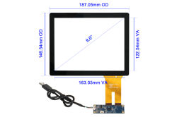 "8"" PCAP Touch Screen _ CT-C8188"