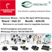 Hannover Messe - 1st to 5th April 2019 at Hannover, Germany