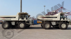 SWORT500R Rigid dump truck to North Africa