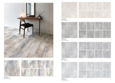 Rustic tile catalogue