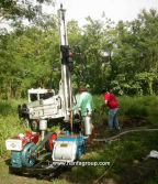 HF150T Water Well Drilling Rig At Filipino Working Site