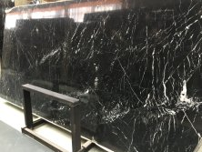 Black Nero Marquina slab