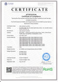 RoHS Certificate of Par38 LED Bulbs