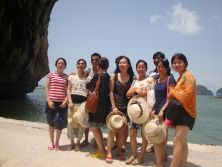 Thailand travel of pingxiang chemshun ceramics international dept