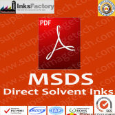 Direct Solvent Inks MSDS