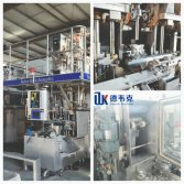 R&D DWECK Aseptic Filling Machine