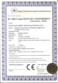 Congratulations Space two major brands of products successfully passed the CE certification