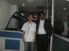 our customer(India) experience our amazing machine,like it so much