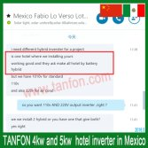 Mexico hotel project feedback