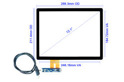 "12.1"" Touch Screen With Projected Capacitive Technology CT-C8063"