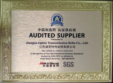 Certificated by SGS