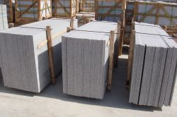strong wooden crarte for granite slab