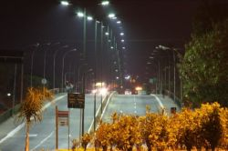 LED Street light in Brazil