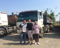 Alpina tires visit Taiwan customers