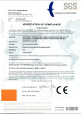 Kingkonree Solid Surface CE Certificate