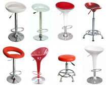 Promotional outdoor garden bar chair bar stools with swivel base