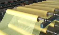 FIBERGLASS NET MAKING