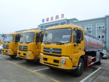 3 Units of Dongfeng 4X2 fuel tank truck are ready to go