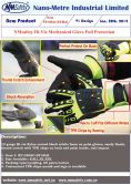 Hi-Viz mechanical glove anti-impact