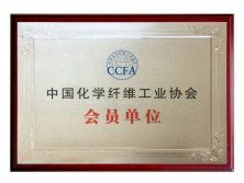 Associate member of China Chemical Fiber Industry