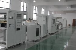Fire test production line