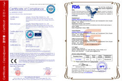 Face mask certificate