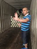 loading container to Mid east