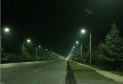 LED Street light in Dongguan City of China