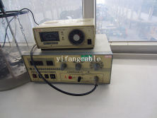 Measuring resistance machine and temperature control instrument