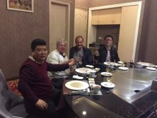 Dinner with Switzerland Clients