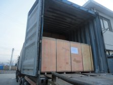 Teak Plywood Loading