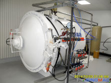 To New Zealand: 1500x1000mm Composite Autoclave in 2014