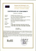 LED Light Bar G1 series RoHS certificate