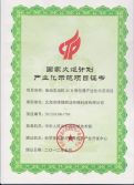 National Torch Program Certificate