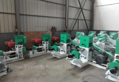 Dry Type Floating Fish Feed Extruder to Nigeria