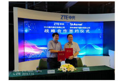 Acrel and ZTE signed a strategic cooperation