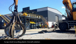 Scrap steel recycling plants Overall solution