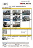 SGS Certifcation Report for factory