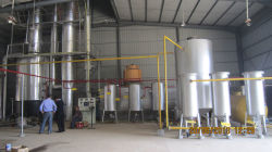 Continuous oil disitllation plant refine waste engine oil