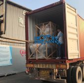 Loading container to India