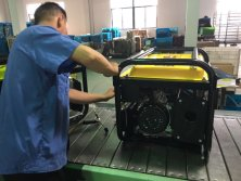 Product Gasoline Generator Quality Control