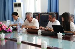 Warmly Welcome Cuba Merchants to Visit China Coal Group for Purchasing