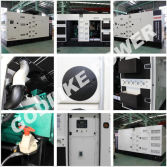625KVA silent type diesel generator sets powered by SDEC for government project