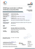 DVGW certificate for PPR PIPES