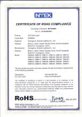 RoHS Certificate For Led Work Light
